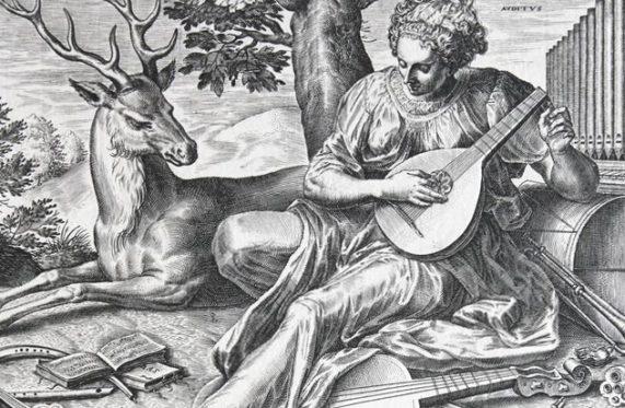 Udito, allegoria dei cinque sensi