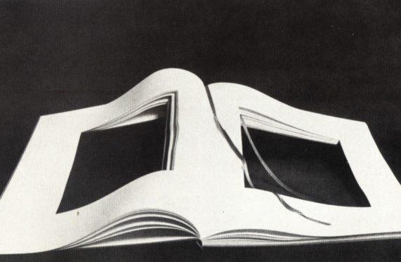 Vincenzo Agnetti Libro dimenticato a memoria 1969