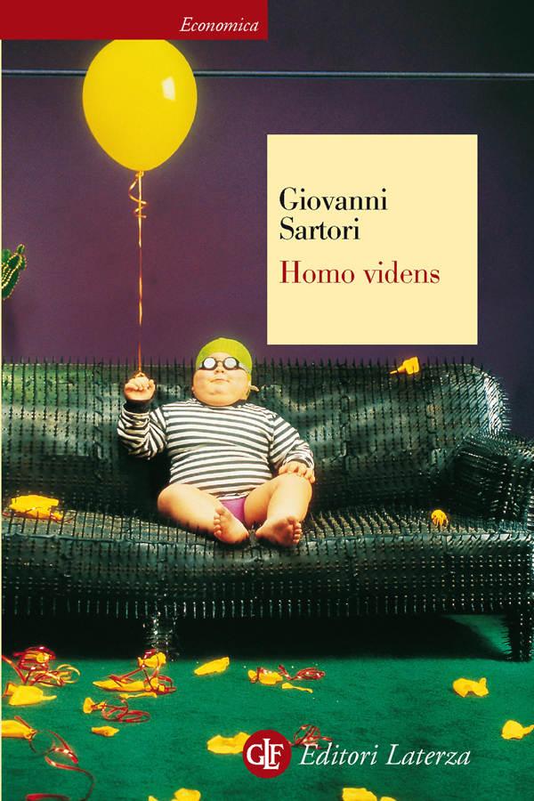 Homo videns, Sartori, cover