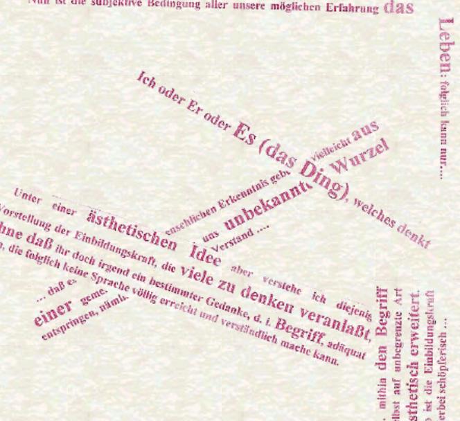 Sensibilità, immaginazione e bellezza, Gambazzi, cover